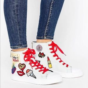 Tommy Hilfiger Gigi Hadid Lace Up High Top Sneaker